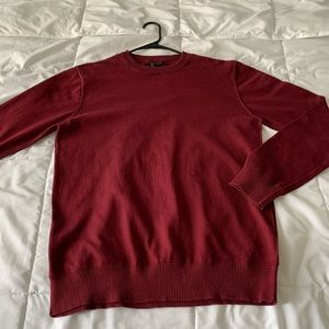 Forever 21 Red, Burgundy Sweater